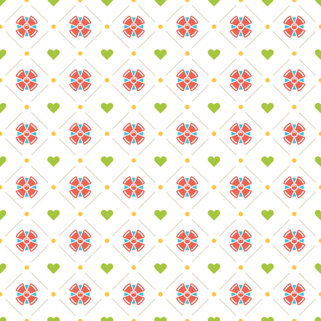 red wallpaper: Happy Birthday Seamless Pattern Vector Design