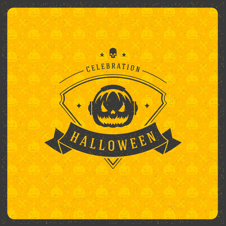 celebration party: Halloween vector illustration