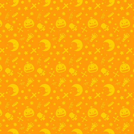 Halloween pattern vector design for background