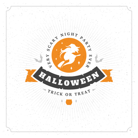 Halloween celebration vector illustration Illustration