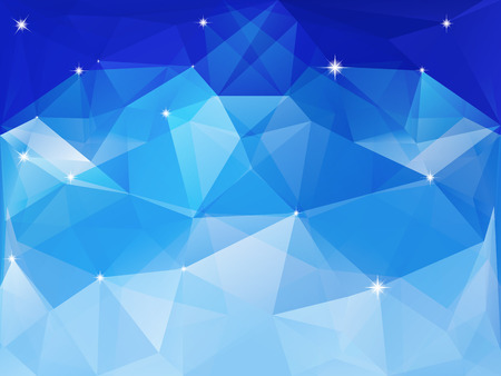 Colorful geometric background with triangles  Vector EPS 10
