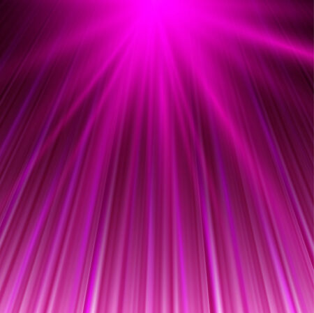 Vector illustration of magic abstract background in pink color