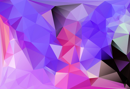 vector illustration of triangle background with pink and purple