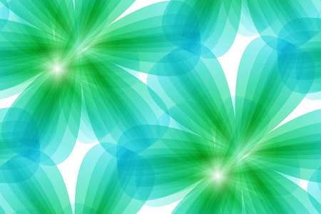 vector illustrator of green floral seamless background. Seamless pattern Vector