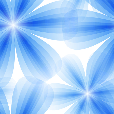 vector illustration of a blue floral. seamless background Vector