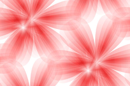 vector illustration of red floral seamless background Vector