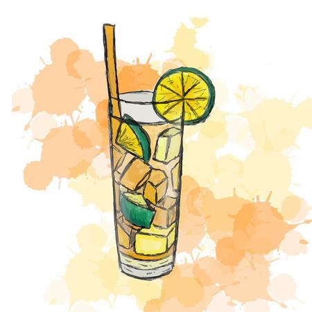 ice tea: cocktail Long Island Ice Tea