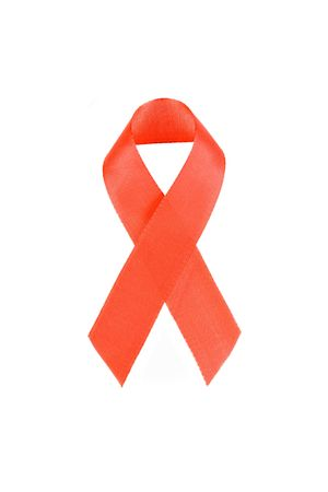 Aids awareness red ribbon Stock Photo - 2537311