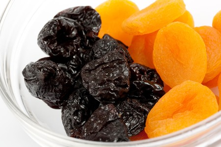 dried fruits apricots and plums