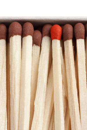 macro shot of matches concept Stock Photo - 4123647