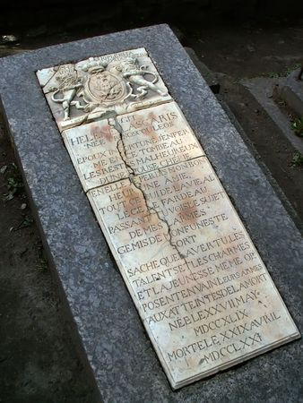 Headstone from St.Petersburgs Necropolis photo