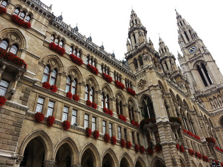 rathaus: Rathaus - Vienna City Hall Austria.
