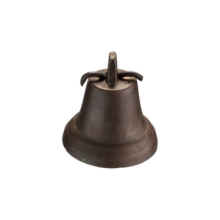 old bell isolated