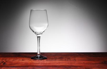 empty wine glass on a white background Archivio Fotografico - 115434745