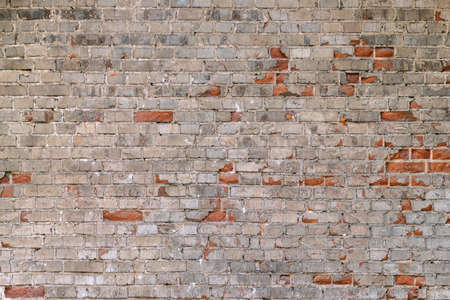 Texture of an old grunge brick wall 스톡 콘텐츠