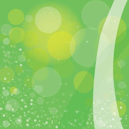 Summer green bubbles backdrop