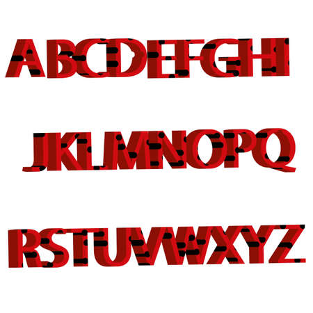 letters with ladybird sample