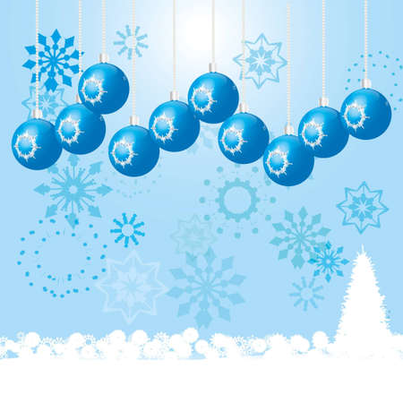 Happy holiday winter picture