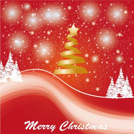 Beautiful winter card or backdrop