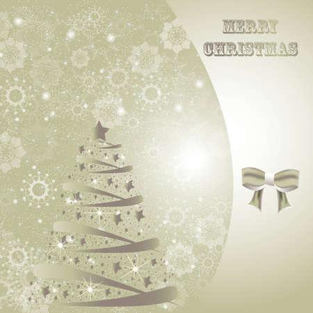 Beautiful winter christmas card backdrop