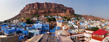 rajput: meherangarh fort - jodhpur - india
