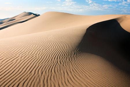 砂漠 - モンゴル 写真素材