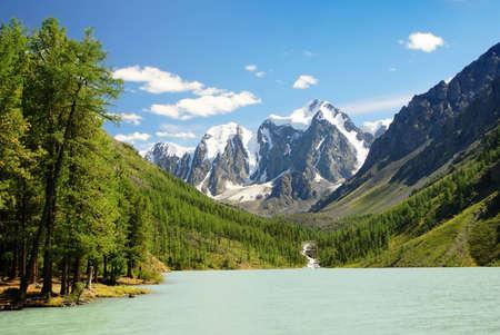 savlo or szavlo valley in altai range - mountains russia