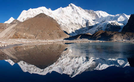 panoramatic: view of cho oyu