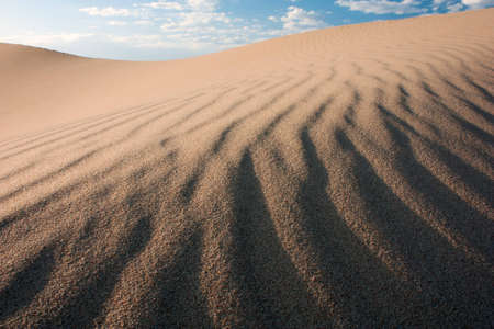 quicksand: sand dune
