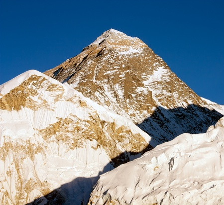 evening view of Everest from Kala Patthar  Stock Photo - 12946248