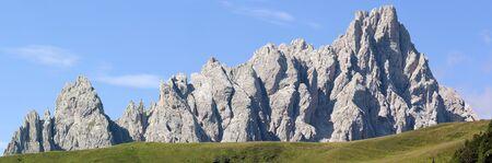 alpen: morning view from Karnische Alpen or Alpi Carniche - Crode Dei Longerin - Dolomiti Italy Stock Photo