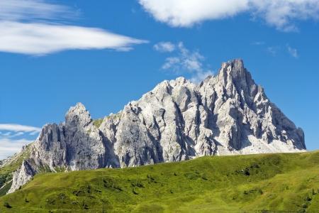 alpen: Crode Dei Longerin - Alpi Carniche or Karnische Alpen - Dolomiti - Italy