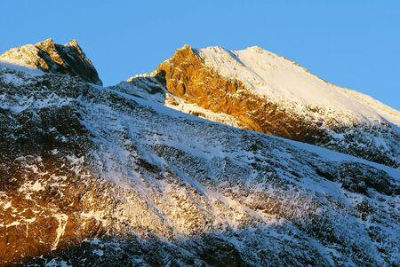 alpen: Morning view of Zillertal Alpen