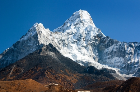 Ama Dablam - way to Everest base camp - Nepal  photo