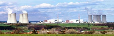 dukovany: nuclear plant Dukovany - Czech Republic