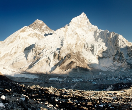mt: view of Everest and Nuptse from Kala Patthar