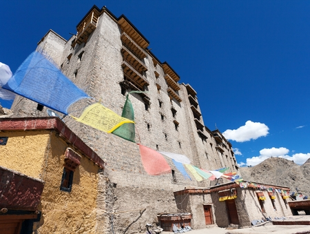 Leh Palace in India  photo