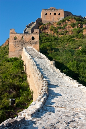 parapet wall: Great Wall of China