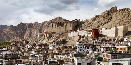 tibetan house: Leh Palace - Ladakh - Jammu and Kashmir - India