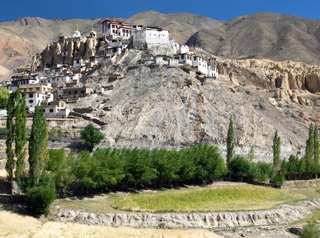 gompa: Lamayuru gompa - buddhist monastery in Indus valley - Ladakh - Jamu and Kashmir - India