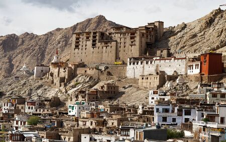 Leh Palace - Ladakh - Jammu and Kashmir - India  photo