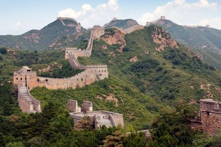 parapet wall: Great Wall - China