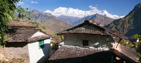guerrilla: Beautiful village and Dhaulagiri himal - Guerrilla trek - Western Nepal
