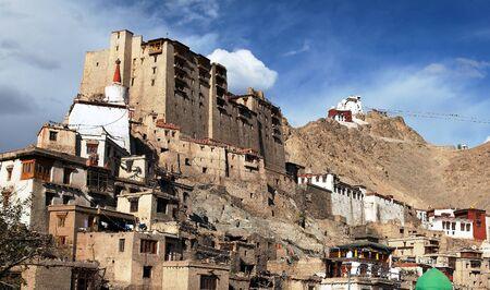 kashmir: Leh Palace - Namgyal Tsemo Gompa - Leh - Ladakh - Jammu and Kashmir - India