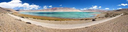 Lake Kar or Tso Kar - Rupshu valley, Ladakh, Jammu and Kashmir, India photo