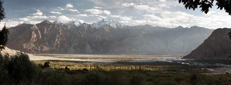 kashmir: Nubra valley - Indian himalayas - Ladakh - Jammu and Kashmir - India Stock Photo