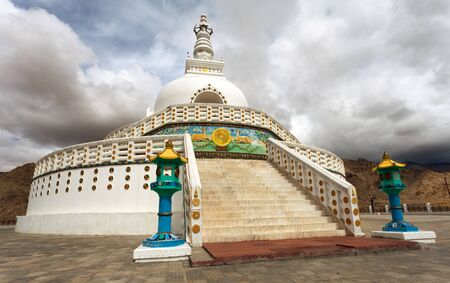 shanti: Tall Shanti Stupa near Leh