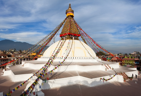 Boudhanath stupa Stock fotó