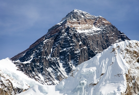 エベレスト ベース キャンプ サガルマータ国立公園クーンブ谷ネパール カラ Patthat 方法からエベレストの頂上
