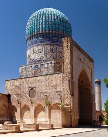 samarkand: View from Bibi-Khanym mosque - Registan - Samarkand - Uzbekistan